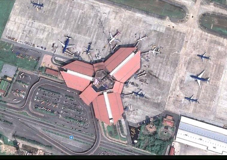 Noibai airport overview
