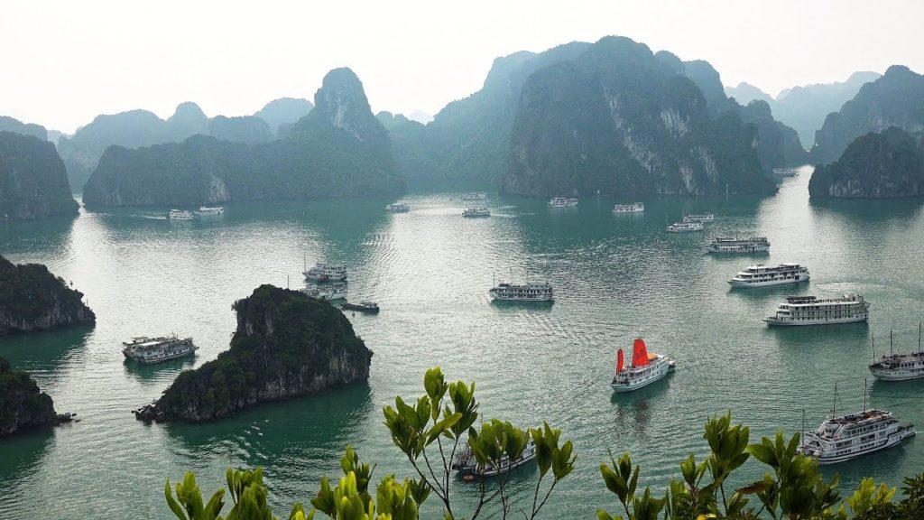 Halong Bay Vietnam.